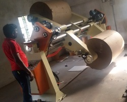 Hydraulic Lifting Shafted Reel Stand