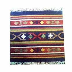Square Cotton Designer Cotton Rug