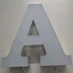 White LED Acrylic Sign Letter, Packaging Type: Carton Box