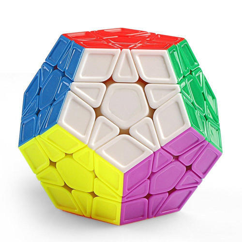 Megaminx Stickerless 3D Puzzle Educational Intellectual Learning Toy