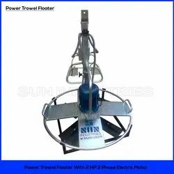 3 Phase Power Trowel Floater