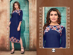 Regular Wear Straight Kurti