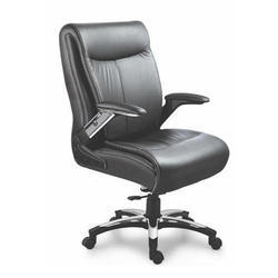 SPS-140 Medium Back Director Leather Chair