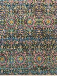 Bamboo Wool Silk Rug