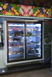 Chiller For Super Market and Vegetable Market