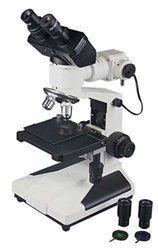 1200x Professional Binocular Metallurgical Microscope w Measuring Reticule Eyepiece