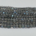 Natural 2mm Labradorite Smooth Round Plain Ball Beads