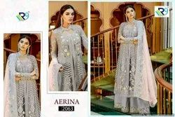 Textilemall Present R9 Aerina Heavy Faux Georgette Pakistani Salwar Suit Collection