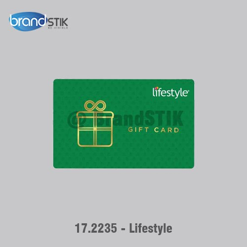 Lifestyle - Gift Card