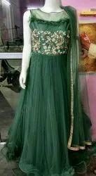 Indo Western Net Fancy Party Wear Gown Barbie Gown