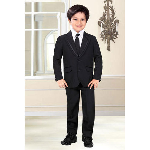 Brown And Red Boys Kids Casual Suit