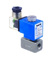 Tork S6010 Direct Acting Stainless Steel Solenoid Valve, Size: 1/4''
