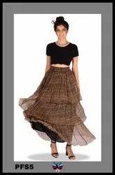 Stylish Ruffle Skirt