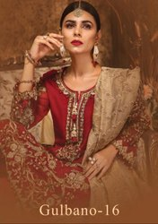 Textile Mall Presnets Deepsy Gulbano Vol-16 Pakistani Style Salwar Kameez Catalog