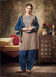 Punjabi Style Daily Wear Readymade Patiala Suit