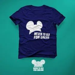 TrendyWay Cotton Never Too Old For Dreams T-shirt