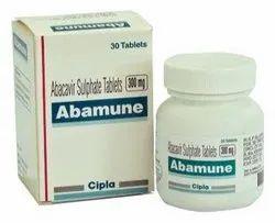 Abacavir Sulphate Tablets 300 mg