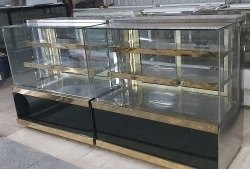 Stainless Steel Bakery Cake Display Counter