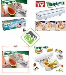 Plastic Food Wrap Dispenser Wraptastic Foil Cling