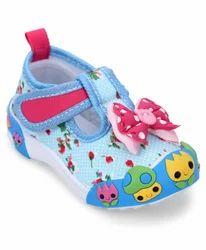 Women Canvas Chuchu Shoes, Size: 15 x 18