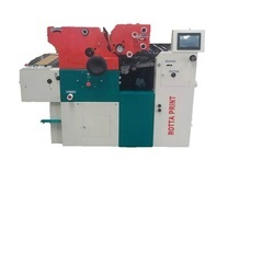 Rotta Print Automatic Two Color Offset Press, Capacity: 4000 Bags Per Hour