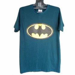 Cotton Printed Mens Half Sleeve T- Shirt