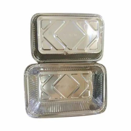 CK Rectangle 250ml Aluminum Foil Container, Thickness: 1-3mm