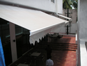 Shed Retractable Awning