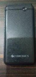 Black Zebronics 10000 Mah Power Bank, Model Name/Number: ZEB-MC10000S1
