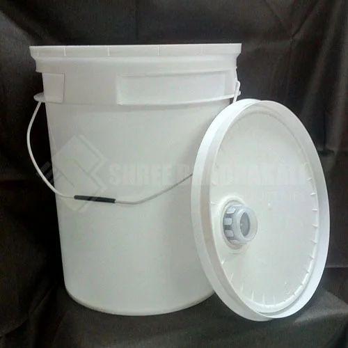Plastic Lubricant Oil Buckets