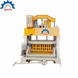 PRESSING TYPE HOLLOW BLOCK MAKING MACHINE