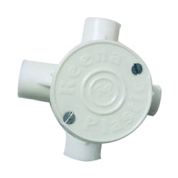 Plastic Reena PVC Junction Box, For Wiring, Size: 25 mm