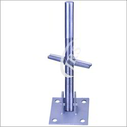 Silver Swivel Adjustable Base Jack