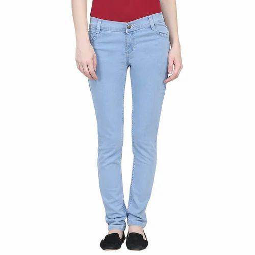 a004e7e14adab5 Blue Stretchable Jeans For Ladies, Rs 320 /piece, Anjani Associates ...