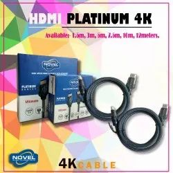 Novel platinum HDMI cable
