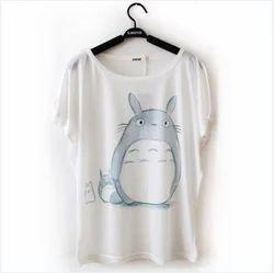 White Girls Printed T-Shirt