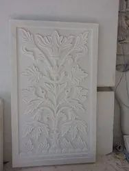 Marble carving pannel