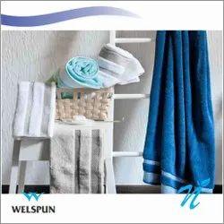 Plain Cotton Welspun Hygro Towels, For Bath Towel, Size: 75 X 150
