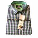 Mens Cotton Multicolor Checked Shirt, Size: Xl