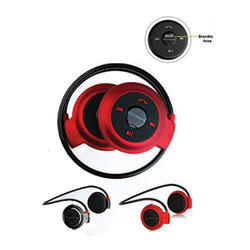 Red Wireless Bluetooth Stereo Head Set
