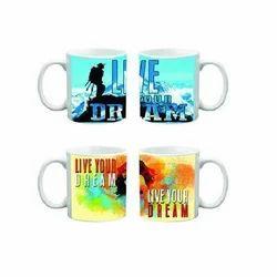 Ceramic Printed Mug Printing Services, For Gift