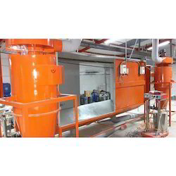 Powder Coating Recovery Booth Cyclone, Automation Grade: Semi-Automatic