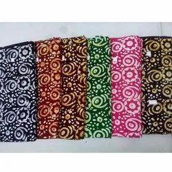 Printed Kurti Gown Fabric, GSM: 100-150