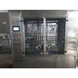Servo Based Engine Oil Filling Machine