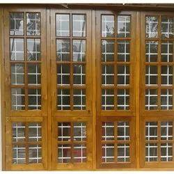 Teak Wood Designer Window
