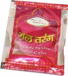Jaltarang Pouch Pink Holi Color