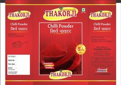 Red Chilli Powder, Packaging Size: RS 5, Packaging Type: Packets