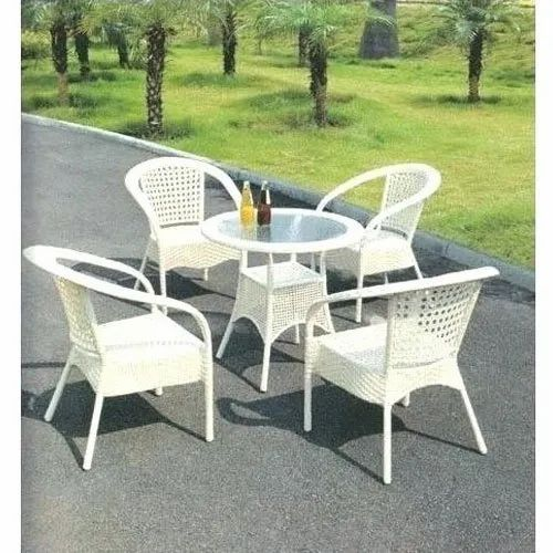 Round Table Garden Furniture Set, Round Table And Chair Set