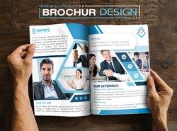 Commercials Graphic Designing Services (Brochure)