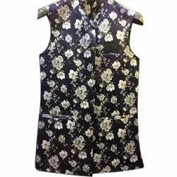 Printed S-XXL, Cotton Nehru Jacket, Packaging Type: Packet